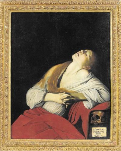 Louis Finson, Madeleine en extase, 1613, hst, 112,50 x 88,50cm