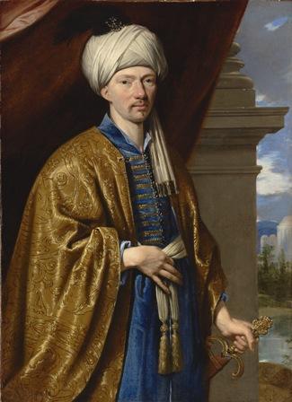 Philippe de Champaigne, Portrait présumé de Jean de Thévenot,  ca. 1660–63, huile sur toile, 23 ½ x 17 in., San Marino (E.U.),Huntington Library.