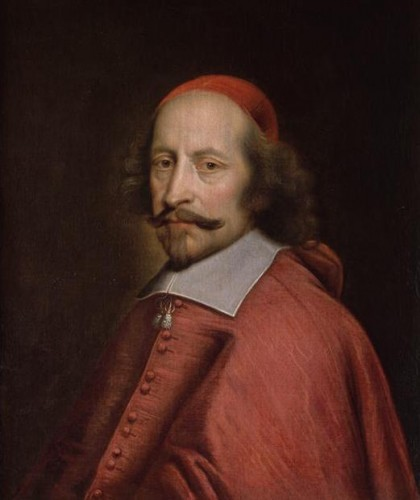 Pierre Mignard, Portrait du cardinal Mazarin, 1661, huile sur toile, 65 x 55 cm, Chantilly, musée Condé.