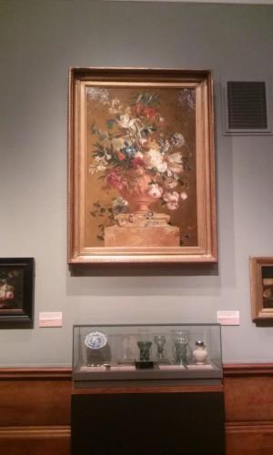 Jan van Huysum, Bouquet de fleurs dans une urne, 1727, huile sur toile, 157.5 x 109.2 cm, Kelvingrove Art Gallery and Museum.