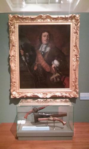 Bartholomeus van der Helst, Capitaine Willem van der Zaan, 1662, huile sur toile, 113 x 91,4 cm, Kelvingrove Art Gallery and Museum.