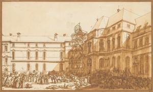 arrivée au Louvre des trésors d'art de la Grande Armée (RF6061-recto) 263 x 446 cm Paris Musée du Louvre (RMN)