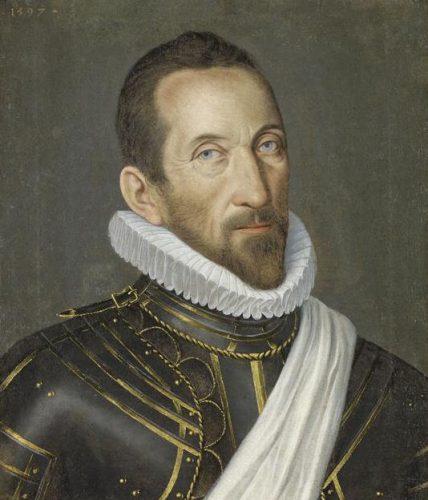 Anonyme, Portrait de François de Bonne de Lesdiguières, 1597, huile sur toile, 50 x 43 cm, Dijon, musée Magnin.