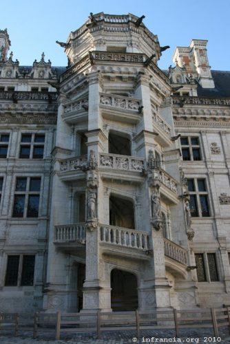 Escalier François Ier, Château de Blois.