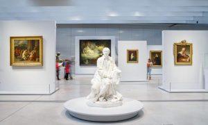 Galerie du temps, renouvellement 2015-2016, Lens, musée du Louvre