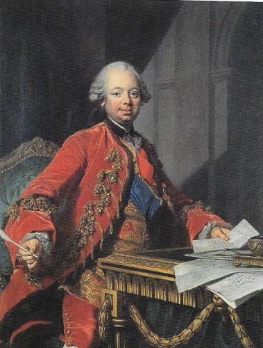 fig. 3. Louis-Michel Van Loo, Portrait d'Etienne-François de Choiseul-Stainville, duc de Choiseul, 1763, huile sur toile, 130 x 97 cm, château de Ray-sur-Saône