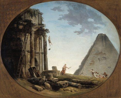 fig. 9. Hubert Robert, L'accident, entre 1790 et 1804, huile sur toile, 60 x 74 cm, Paris, musée Cognacq-Jay