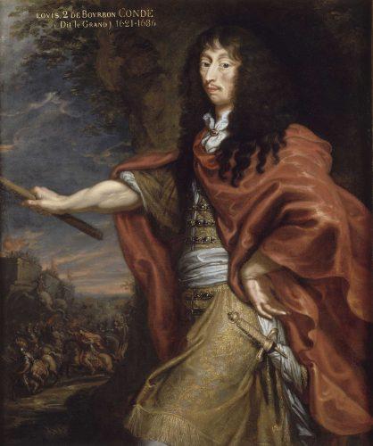 Justus van Egmont, Portrait de Louis II de Buorbon dit Le Grand Condé (1621 – 1686), huile sur toile, 146 x 110 cm, Chantilly,musée Condé © RMN (Domaine de Chantilly) / René-Gabriel Ojéda.