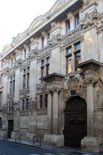 Pierre Souffron, Façade de l'Hôtel de Bagis, 1611, Toulouse, 25 rue de la Dalbade.