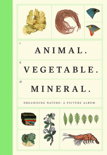 DEE Tim et FAHERTY Anna, Animal, Vegetable, Mineral : Organising Nature : A Picture Album, Londres, Wellcome Collection, 2016, 112 p.